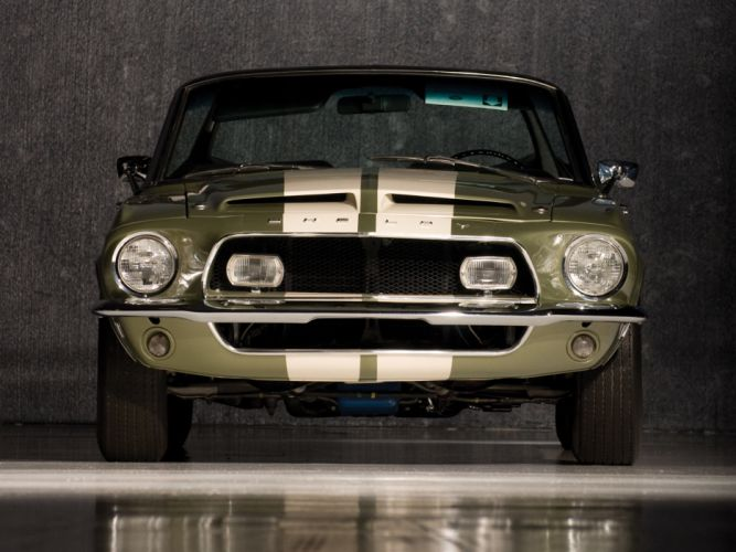 1968 Shelby GT500-KR gt500 convertible ford mustang muscle classic d wallpaper
