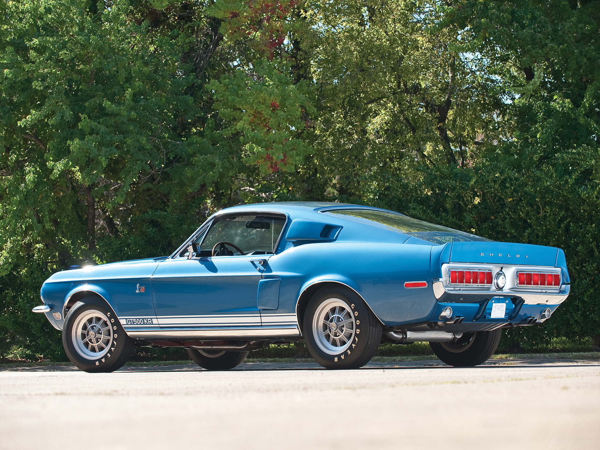 1968 Shelby GT500KR gt500 ford mustang muscle classic d wallpaper