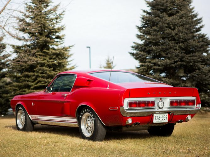 1968 Shelby GT500-KR gt500 ford mustang muscle classic e wallpaper
