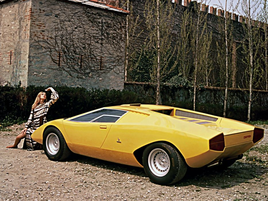 1971 Lamborghini Countach Lp500 Prototype Classic Supercar Supercars