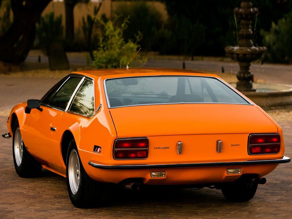 1972 Lamborghini Jarama 400 GTS classic supercar supercars   d wallpaper