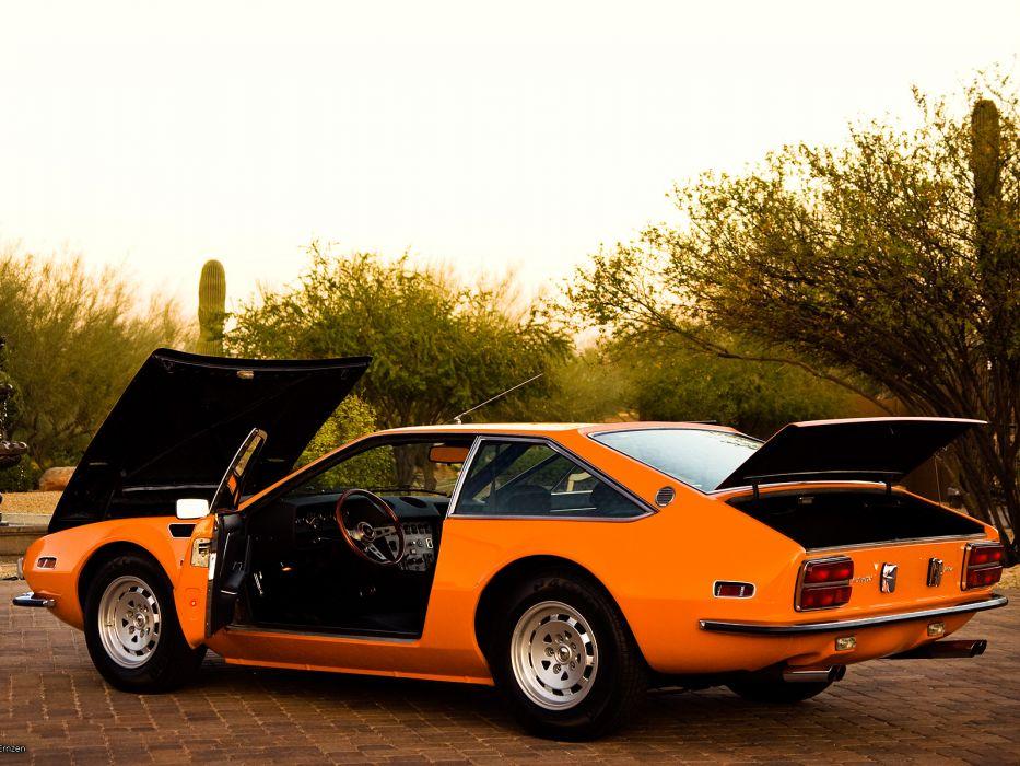 1972 Lamborghini Jarama 400 Gts Classic Supercar Supercars Interior