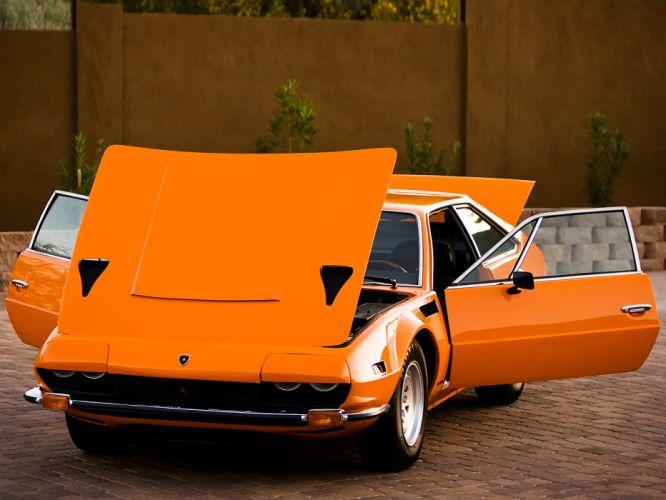 1972 Lamborghini Jarama 400 GTS classic supercar supercars s wallpaper
