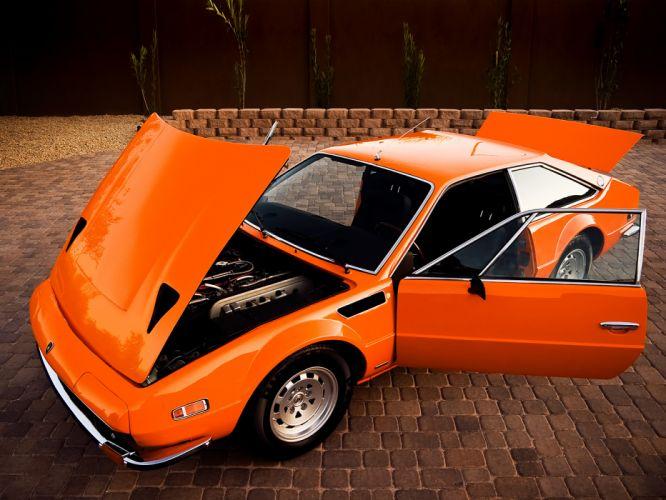 1972 Lamborghini Jarama 400 GTS classic supercar supercars wallpaper