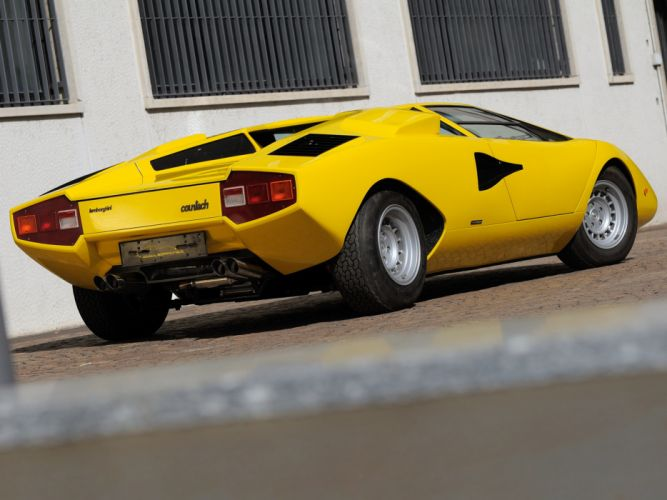 1974 Lamborghini Countach LP400 classic supercar supercars g wallpaper