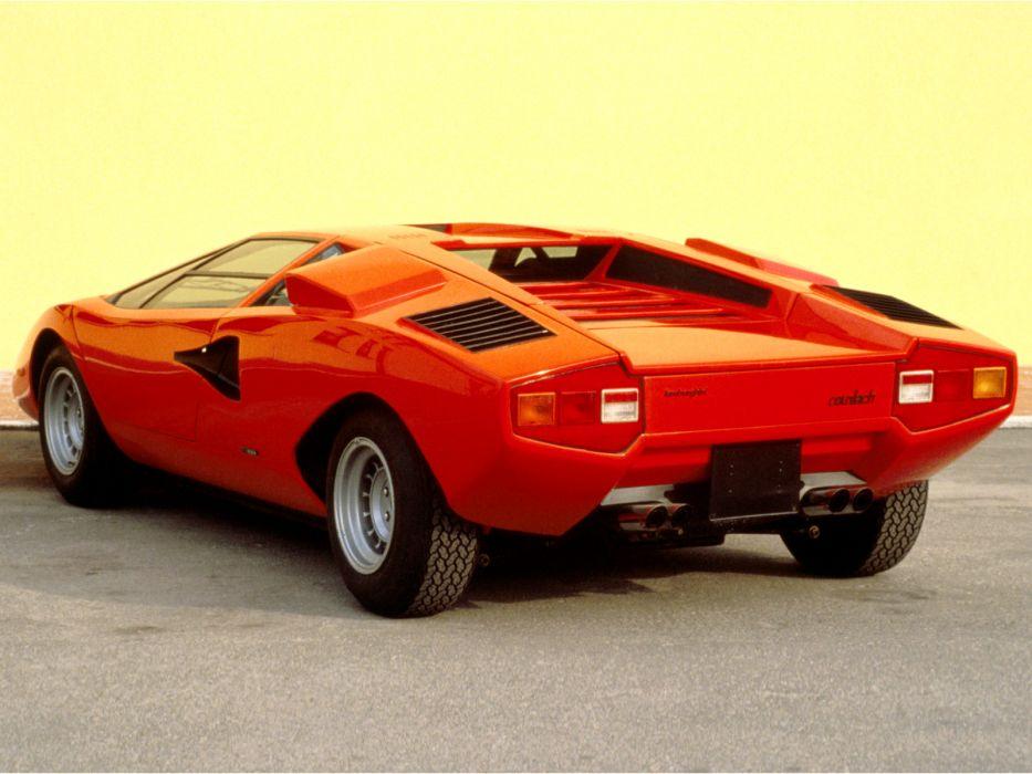 1974 Lamborghini Countach LP400 classic supercar supercars  fd wallpaper