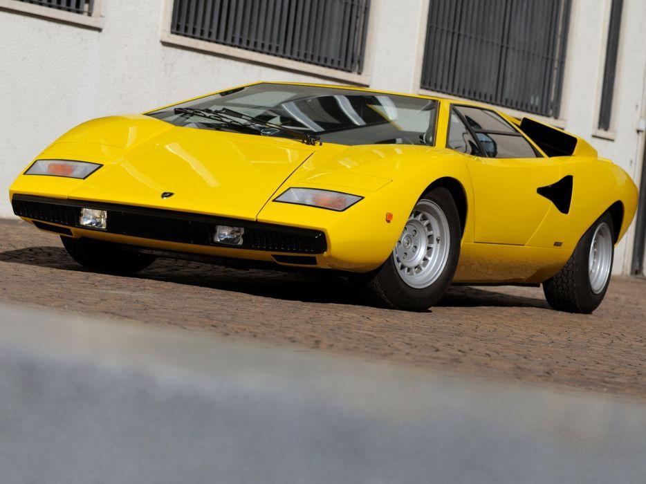 1974 Lamborghini Countach LP400 classic supercar supercars wallpaper