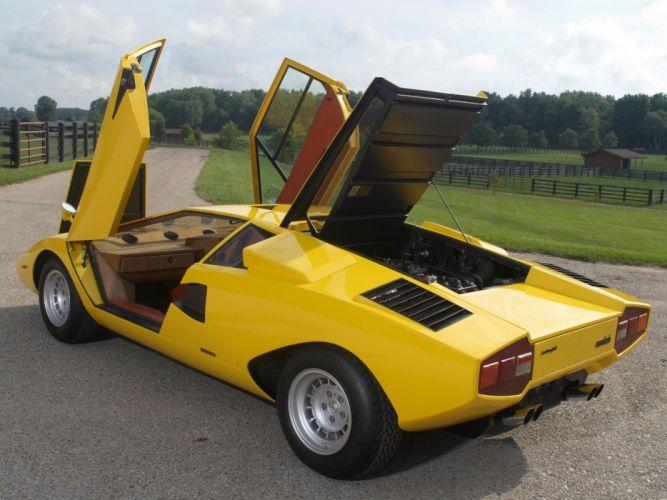 1974 Lamborghini Countach LP400 UK-spec classic supercar supercars f wallpaper