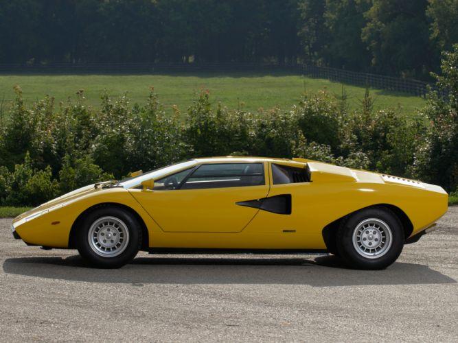 1974 Lamborghini Countach LP400 UK-spec classic supercar supercars fd wallpaper