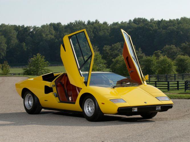 1974 Lamborghini Countach LP400 UK-spec classic supercar supercars e wallpaper