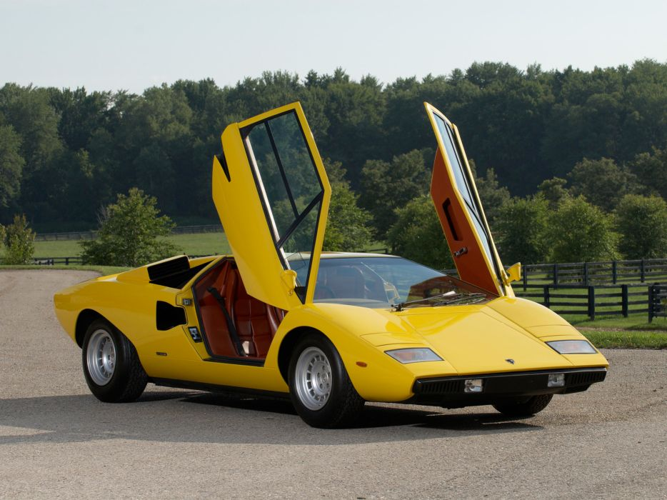 1974 Lamborghini Countach LP400 UK-spec classic supercar supercars e wallpaper