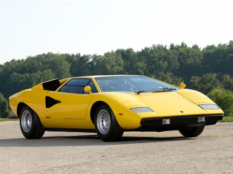 1974 Lamborghini Countach LP400 UK-spec classic supercar supercars q wallpaper