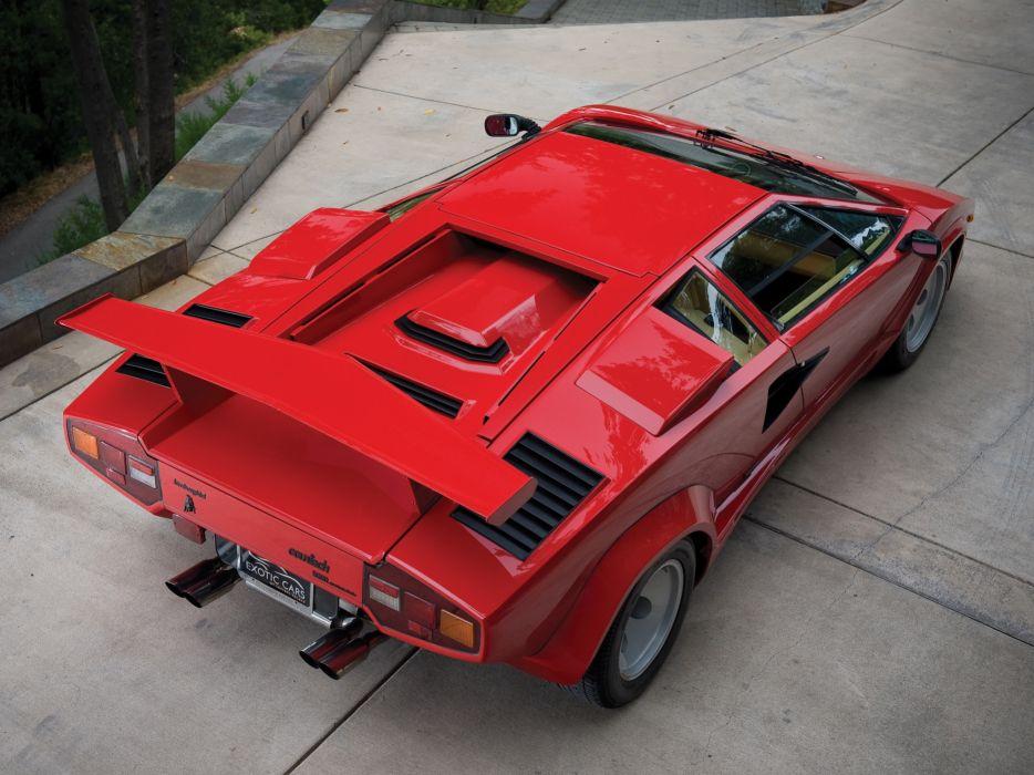 1985 Lamborghini Countach LP5000-S Quattrovalvole lp5000 classic supercars supercar    d wallpaper