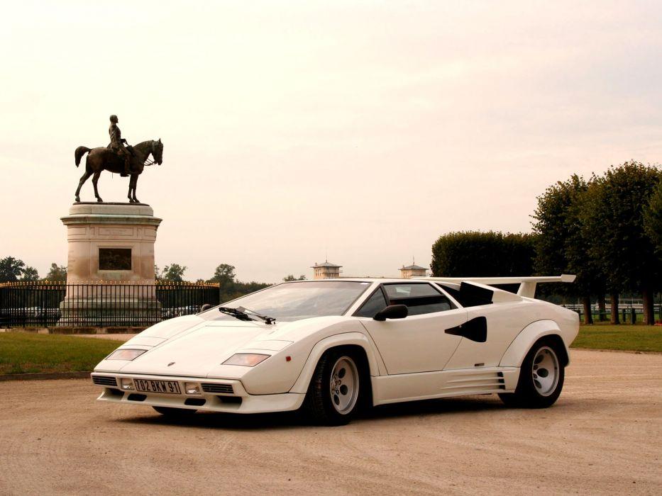 1985 Lamborghini Countach Lp5000 S Quattrovalvole Lp5000 Classic