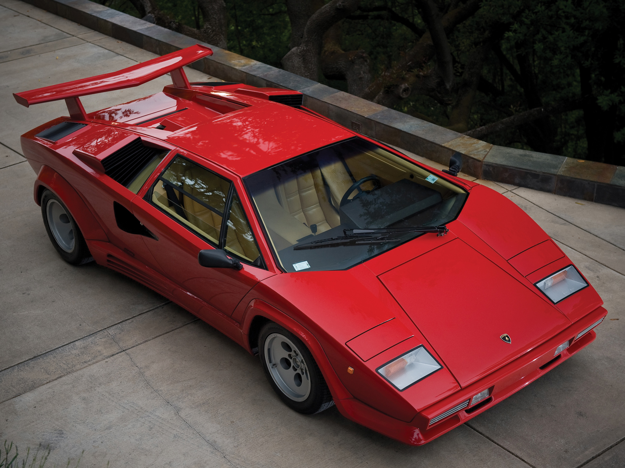 1985 lamborghini countach lp5000 s quattrovalvole lp5000. Black Bedroom Furniture Sets. Home Design Ideas