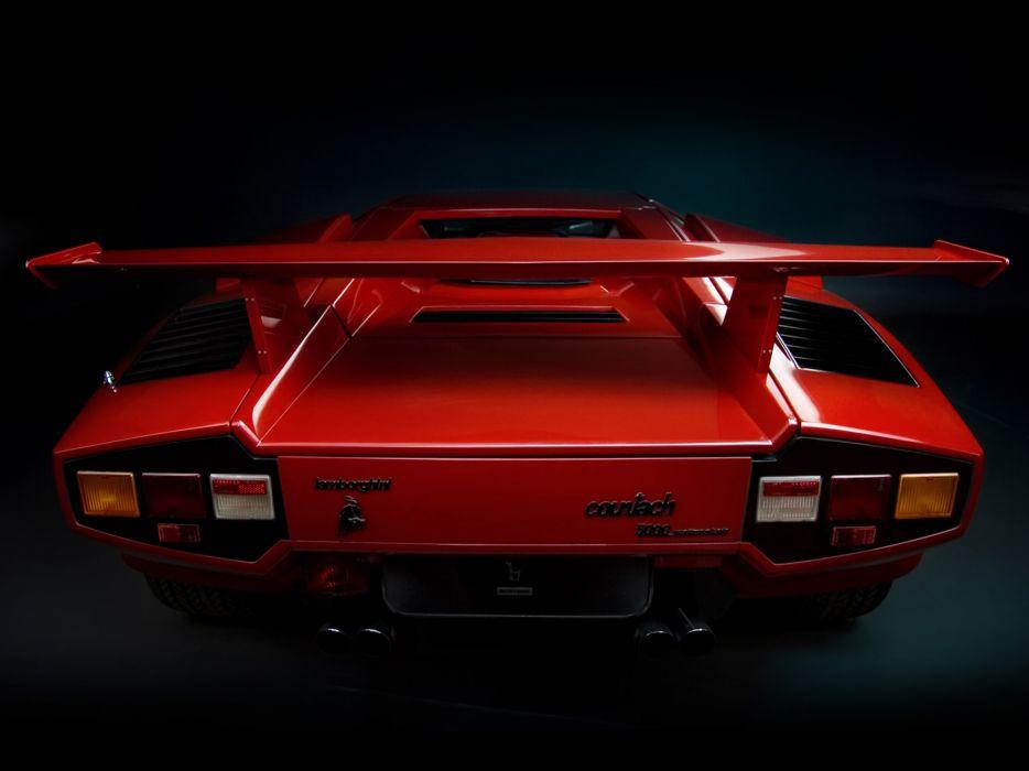 1985 Lamborghini Countach LP5000-S Quattrovalvole lp5000 classic supercars supercar  b wallpaper