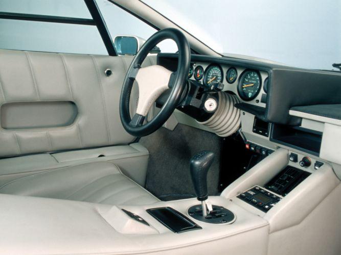 1988 Lamborghini Countach classic supercar supercars interior wallpaper