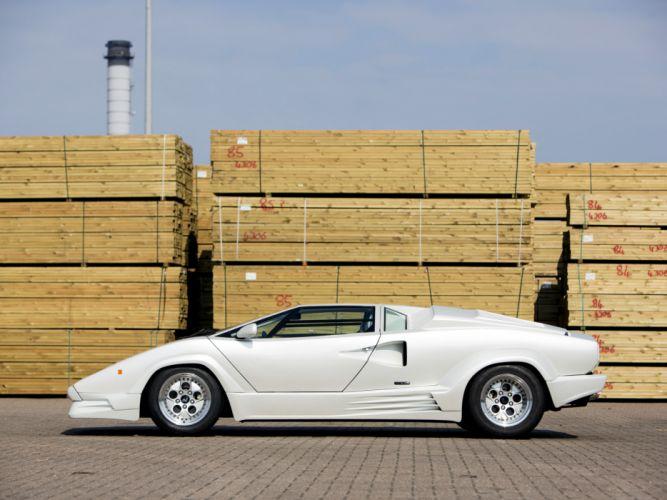 1988 Lamborghini Countach UK-spec classic supercar supercars f wallpaper