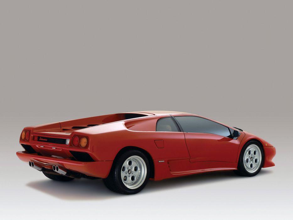 1990 Lamborghini Diablo supercar supercars      d wallpaper