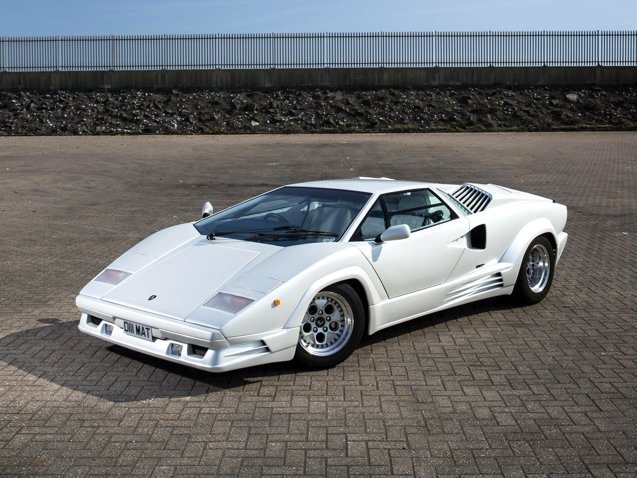 1988 Lamborghini Countach Uk Spec Classic Supercar