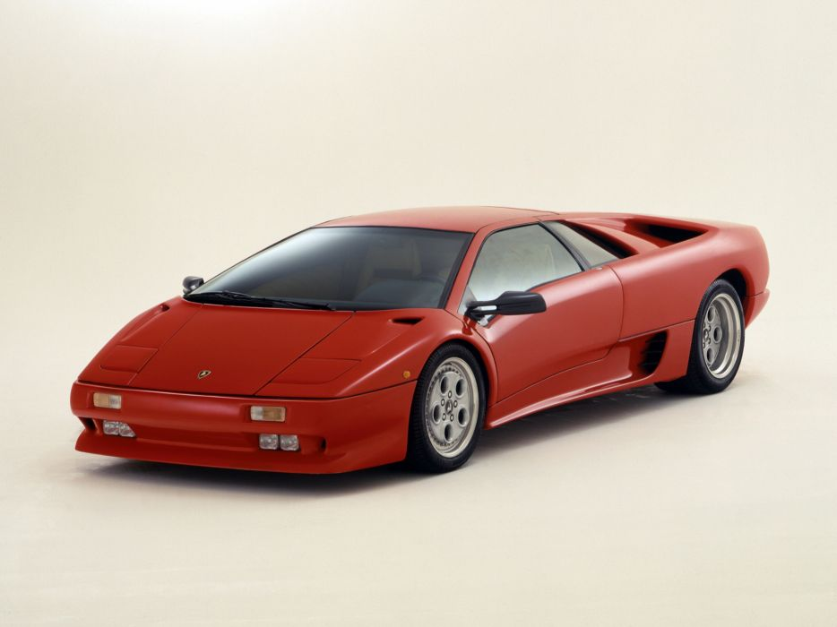 1990 Lamborghini Diablo supercar supercars   s wallpaper