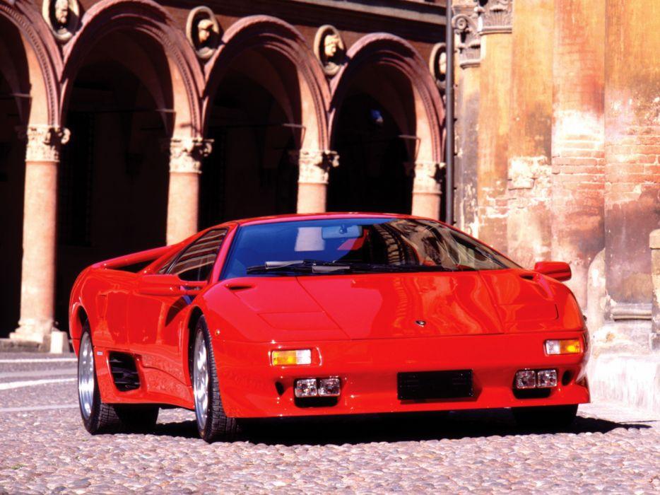 1993 Lamborghini Diablo-VT diablo supercar supercars    h wallpaper