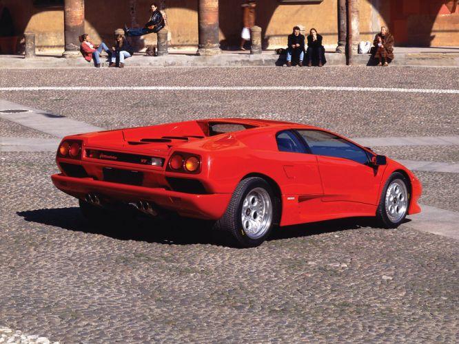 1993 Lamborghini Diablo-VT diablo supercar supercars r wallpaper