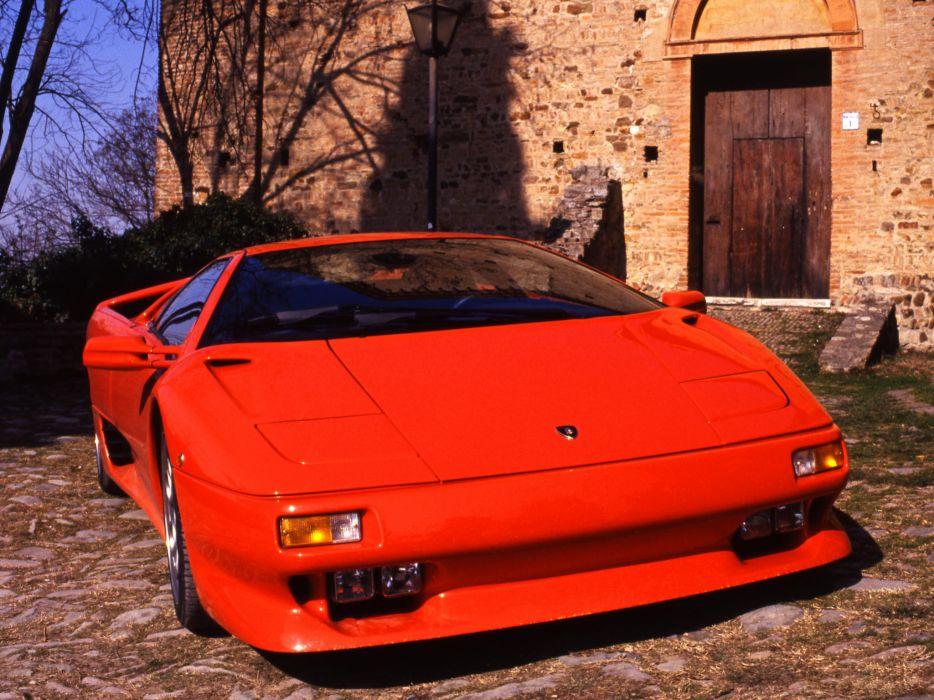 1993 Lamborghini Diablo-VT diablo supercar supercars   s wallpaper