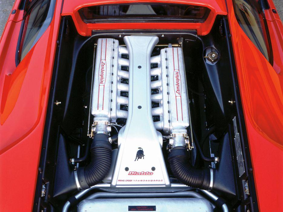 1993 Lamborghini Diablo-VT diablo supercar supercars engine engines wallpaper
