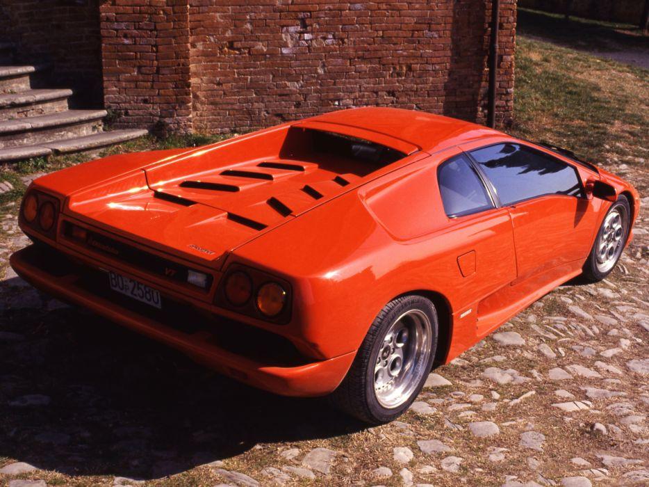 1993 Lamborghini Diablo-VT diablo supercar supercars  q wallpaper