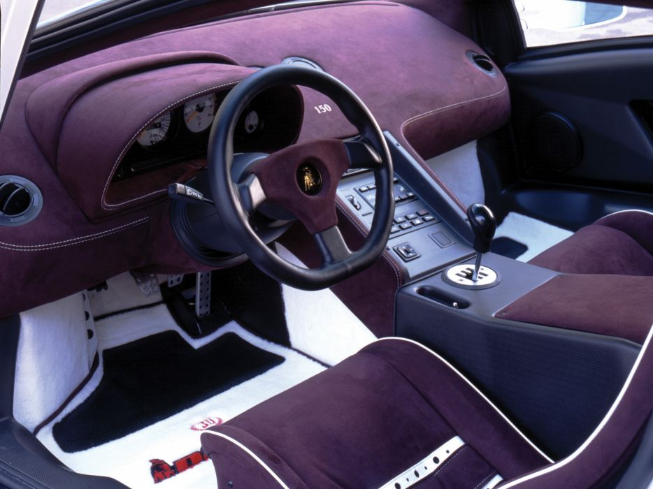 1994 Lamborghini Diablo SE30 supercar supercars interior  jj wallpaper