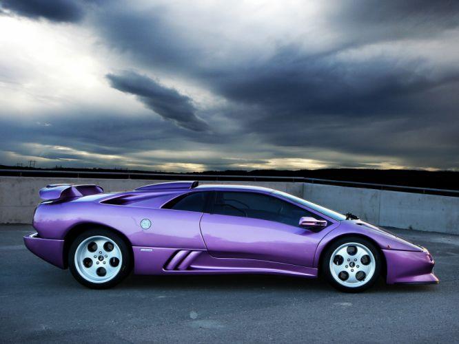 1995 Lamborghini Diablo SE30 Jota supercar supercars wallpaper
