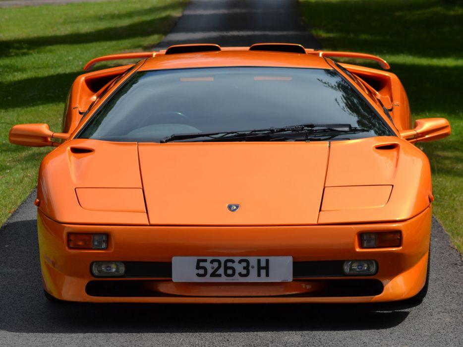 1995 Lamborghini Diablo-SV diablo supercar supercars     ge wallpaper