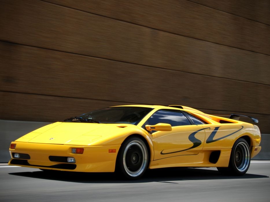1995 Lamborghini Diablo,SV diablo supercar supercars g