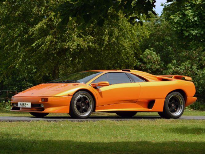 1995 Lamborghini Diablo-SV diablo supercar supercars wallpaper