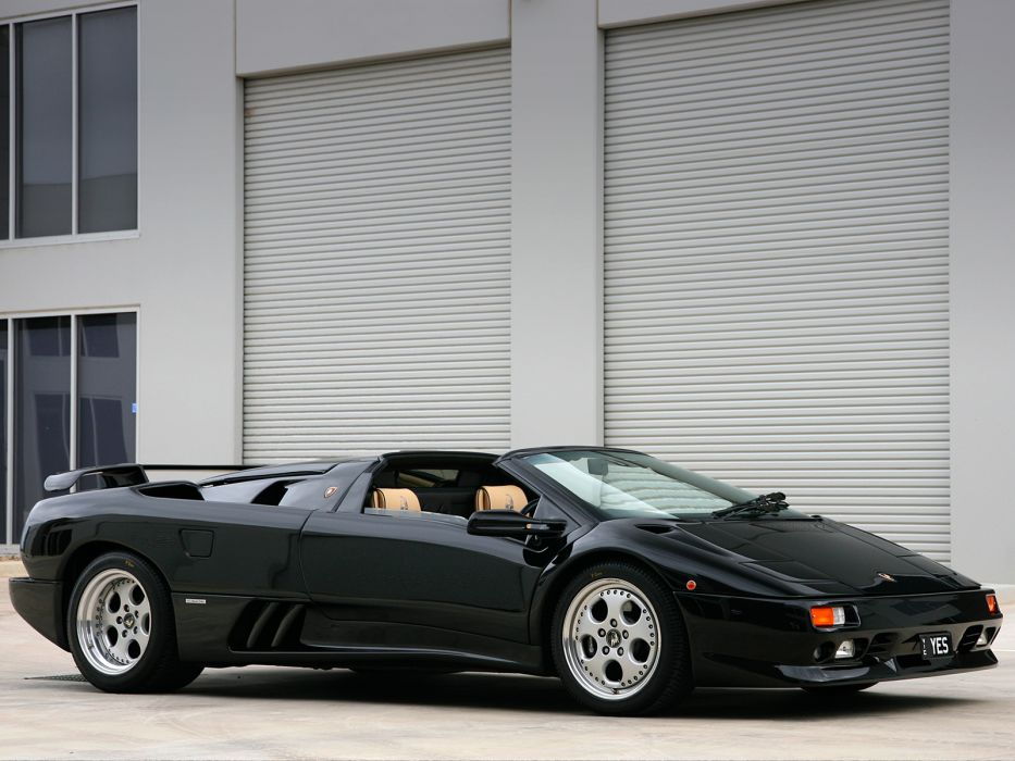 1995 Lamborghini Diablo-VT Roadster AU-spec diablo supercar supercars f wallpaper