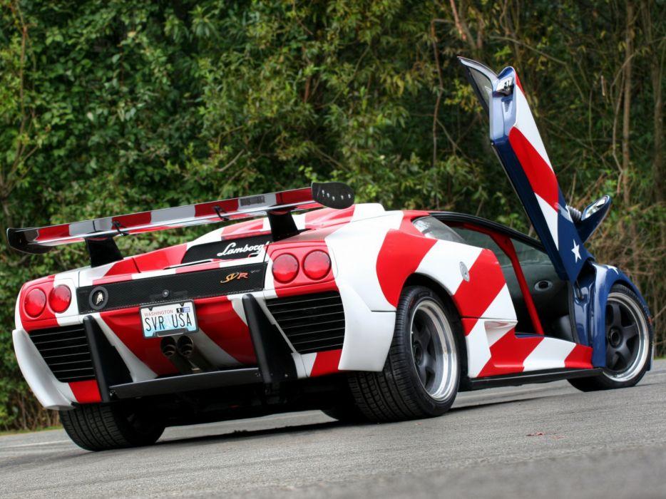 1996 Lamborghini Diablo SVR supercar supercars  f wallpaper
