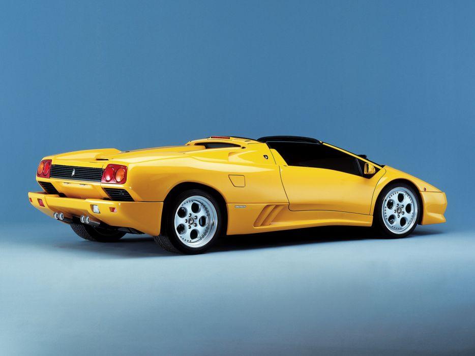 1998 Lamborghini Diablo-VT Roadster diablo supercar supercars     g wallpaper