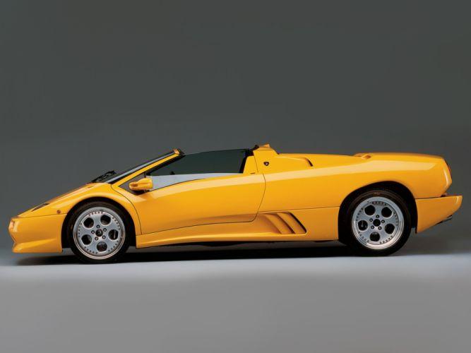 1998 Lamborghini Diablo-VT Roadster diablo supercar supercars f wallpaper