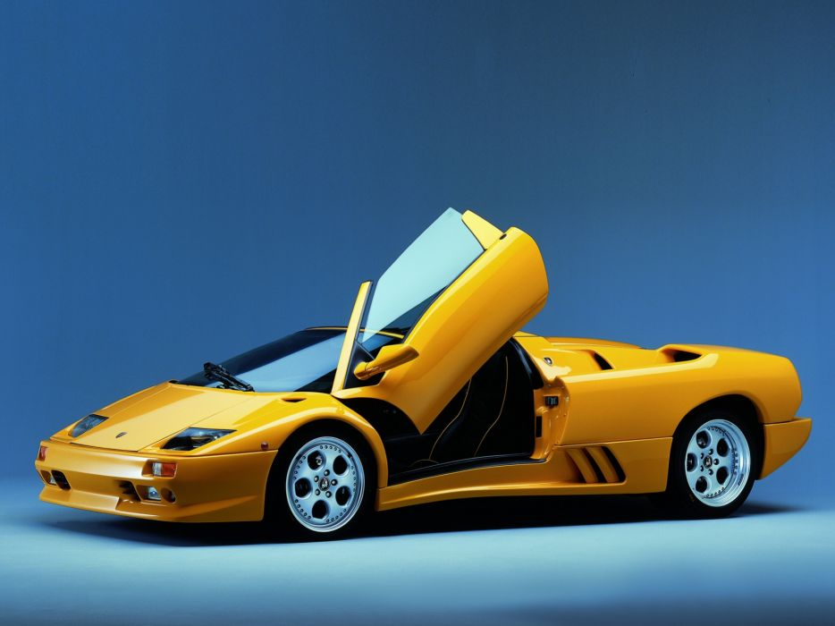 1998 Lamborghini Diablo-VT Roadster diablo supercar supercars wallpaper