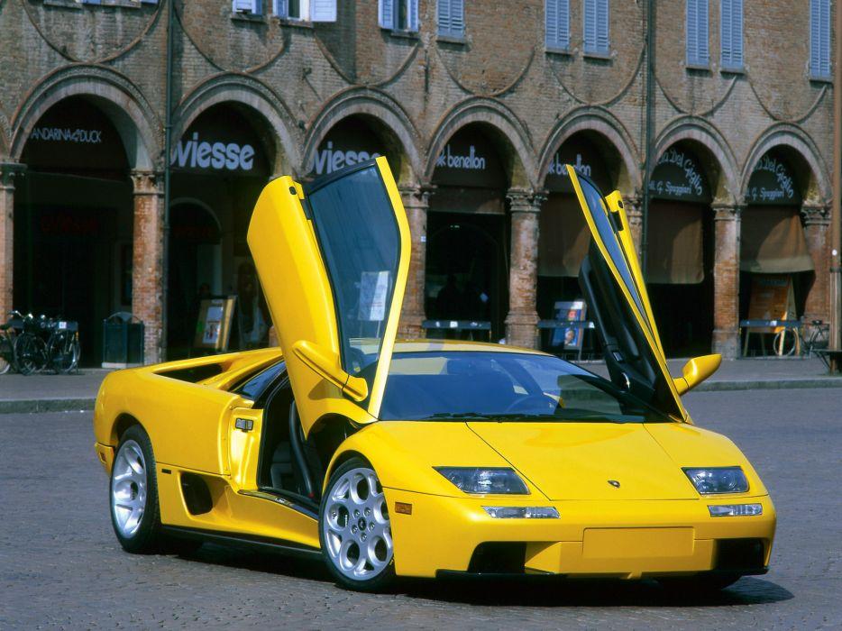 2000 Lamborghini Diablo-VT 6_0 diablo supercar supercars   g wallpaper