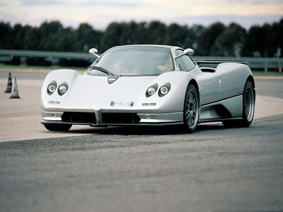 2000 Pagani Zonda C12 S supercar supercars wallpaper