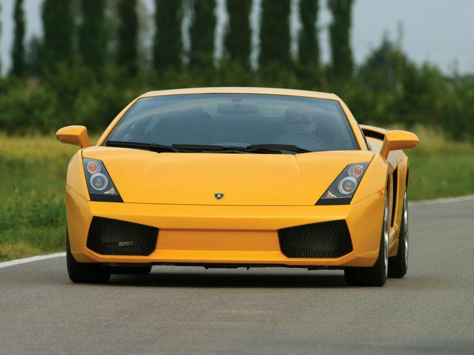 2003 Lamborghini Gallardo supercar supercars    fw wallpaper