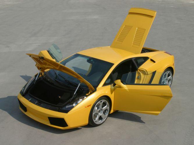 2003 Lamborghini Gallardo supercar supercars interior wallpaper
