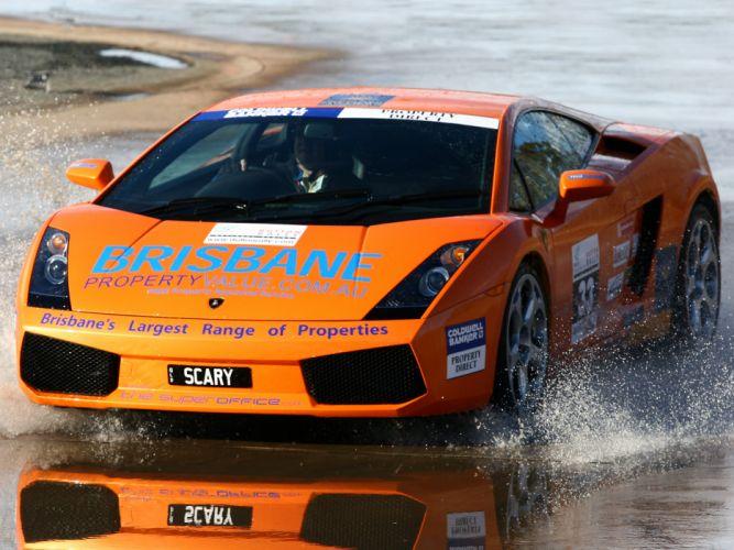 2003 Lamborghini Gallardo supercar supercars race racing wallpaper