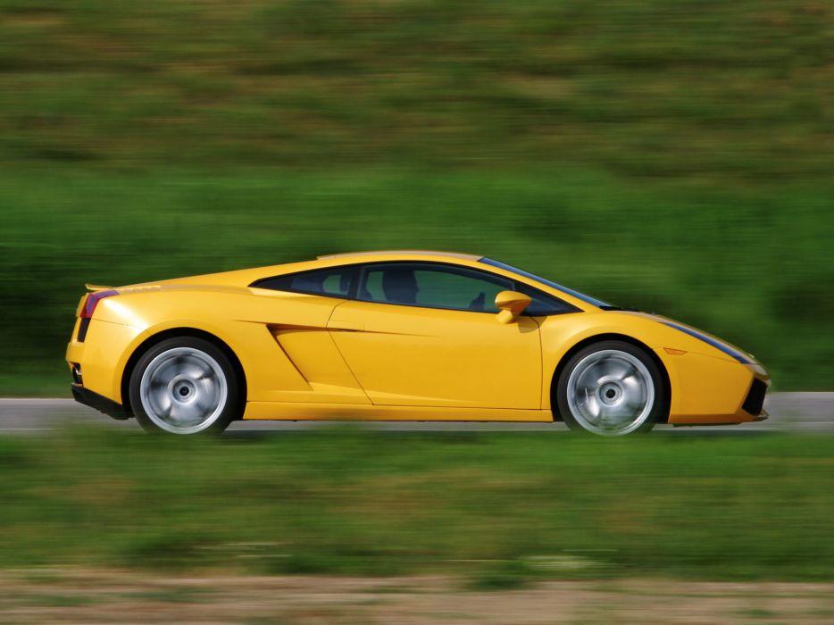 2003 Lamborghini Gallardo supercar supercars wallpaper