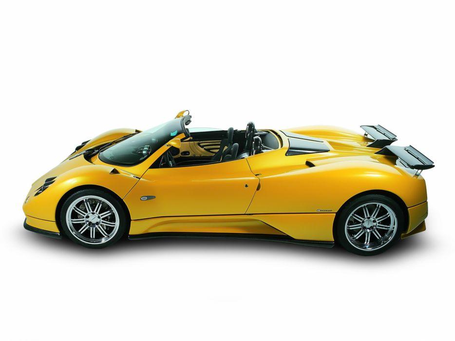 2003 Pagani Zonda Roadster supercar supercars     d wallpaper