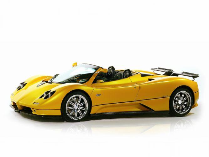 2003 Pagani Zonda Roadster supercar supercars f wallpaper