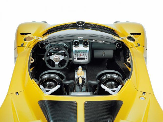 2003 Pagani Zonda Roadster supercar supercars interior w wallpaper