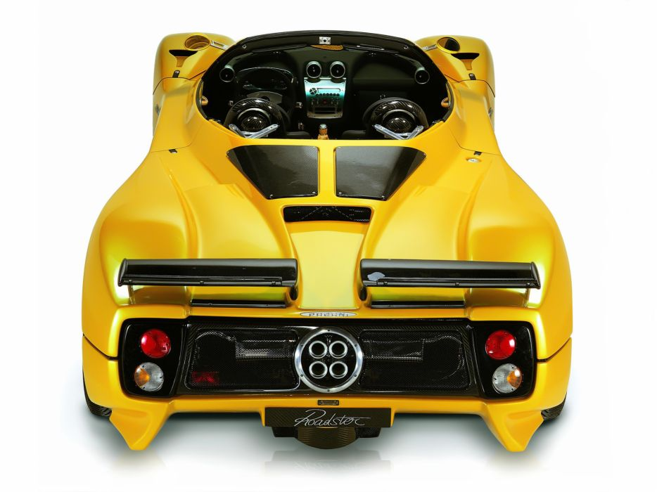 2003 Pagani Zonda Roadster supercar supercars interior  q wallpaper